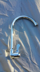 New chrome House, RV or boat Wall Mount Faucet