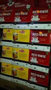 KEURIG TEA RED ROSE AND LIPTON ONLY $2.99 BOX OF 18