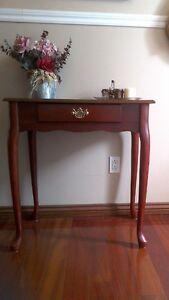 Superbe table console d' appoint ,bureau secrétaire Queen Anne
