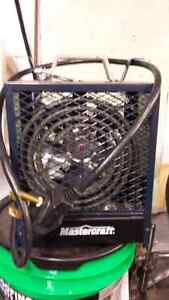 240 volt garage heater