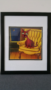 Will Rafuse's cats'  Framed Poster