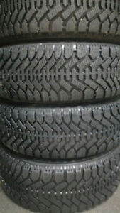 205/60r15 Goodyear Nordic with RIMS