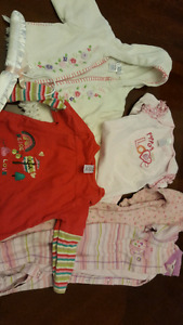 5 girls clothing items size 6months to 1 year