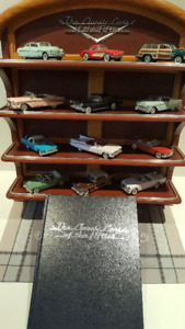 Collection of ''The Classic Cars of the Fifties'' Franklin Mint