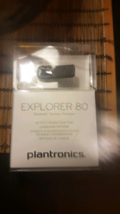 Plantronics Explorer 80 Bluetooth Headset Onyx Black