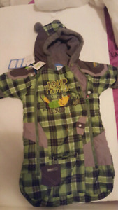 winter suit 0-12 months Brand New
