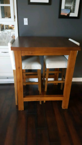 Pub Style Table - Solid Wood - REDUCED!!!
