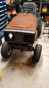82 Huskee lawn tractor