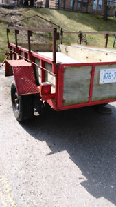 8'x4' Utility Trailer for Sale