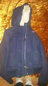Navy Blue Hollister Coat