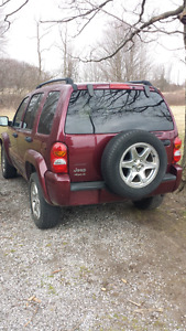 2004 jeep liberty for parts