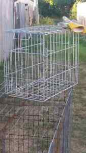 Small kennel style cage