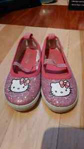Girls Hello Kitty shoes (size 9)