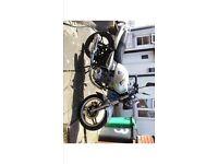 Pioneer 125 project bike