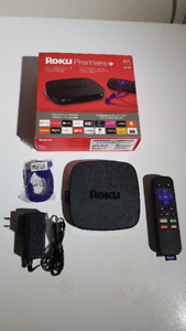 For Sale Roku Premiere+ 4K HDR Streaming Media Player (4630CA)