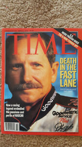 DALE EARNHARDT CANADIAN TIME MAGAZINE