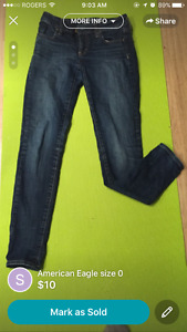 2 pairs of jeans for sale