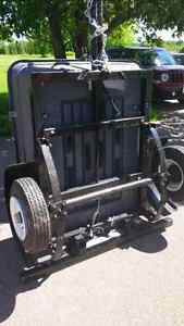 Bike trailer for sale. New!! Asking $650 (obo) will consider tra