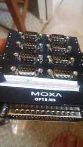 Moxa opt8-m9 with moxa cable