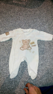 Various new clothing for baby