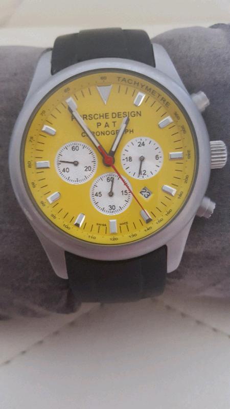 Porsche Design Chronograph Tachymeter Mens Watch In Hall Green West Midlands Gumtree