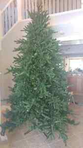 9' full artificial Christmas tree
