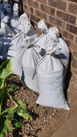 Soil already bagged FREE