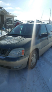 2005 ford freestar trade for 4×4 only or 3gs cash