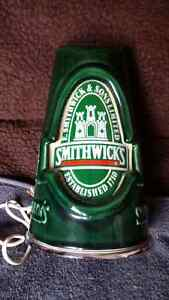 Ceramic Smithwicks Irish Ale bar sign