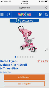 Reduced! 4in1 Radio Flyer Trike! Christmas Gift!