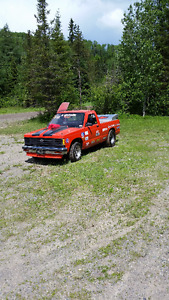 Chevrolet S-10 Drag Racing truck