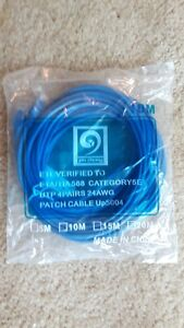 BRAND NEW 10M 30ft Ethernet Internet Network Lan Cable Cord Blue
