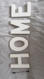 Freestanding/hanging HOME sign
