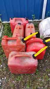 Various Gas Cans Peterborough Peterborough Area image 1