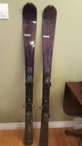 For Sale - Women's Salomon Downhill Skis - 143 cm