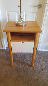 Wooden Night Table - $30