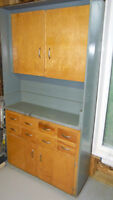 Garage storage unit/ parts cabinet- with 8 drawers SOLIDLY BUILT