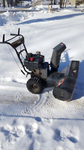 """Murray (24"""") 205cc Two-Stage Snow Blower with electric start."""