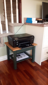 Custom Telephone/Decorative Table and Printer Stand
