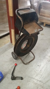 Bander - Steel : with cart, tensioner, roll, crimper