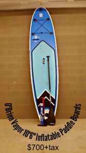 O'Brien Varpor iSup Paddleboards for sale *Price Reduction*
