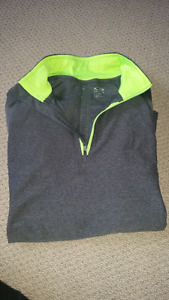 1/4 zip workout sweater