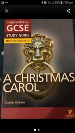 A Christmas Carol Study Guide for sale  Southport, Merseyside