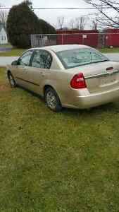 2005 Chevrolet Malibu Sedan etested and safetied many new parts
