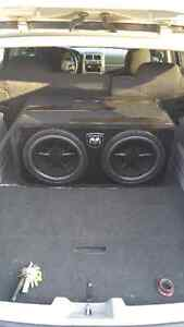 2 12 inch clarion subwoofers