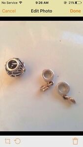 Authentic retired Pandora charms