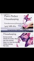 Pam's Perfect Housekeeping