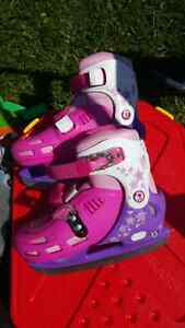 Adjustable girls skates