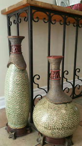 Two beautiful vase