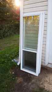 Exterior door glass kits